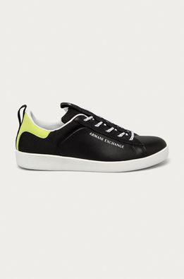 Armani Exchange - Шкіряні черевики