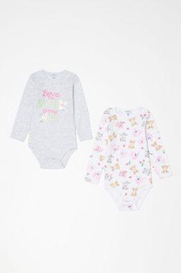 OVS - Боди для младенцев 56-92 cm (2-pack)