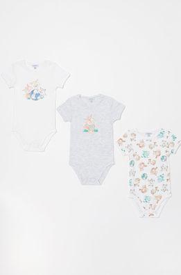 OVS - Body pre bábätká 68-98 cm (3-pak)