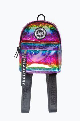 Hype - Gyerek hátizsák RAINBOW GLITTER