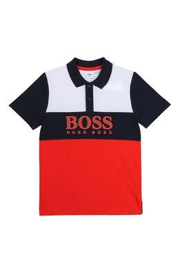 Boss - Tricou polo copii