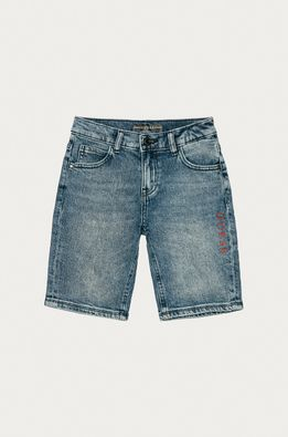 Guess - Детски дънков къс панталон 116-175 cm