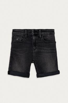 Calvin Klein Jeans - Pantaloni scurti din denim pentru copii 116-176 cm