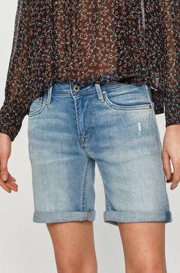 Pepe Jeans - Pantaloni scurti jeans Poppy