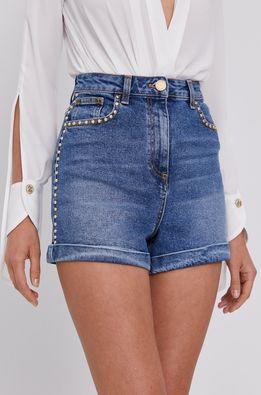 Elisabetta Franchi - Pantaloni scurti jeans