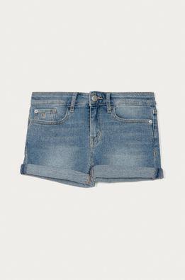 Calvin Klein Jeans - Detské rifľové krátke nohavice 128-176 cm