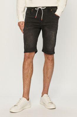 Pepe Jeans - Rifľové krátke nohavice Jagger