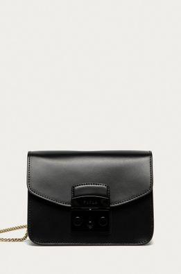 Furla - Кожена чанта Metropolis Mini