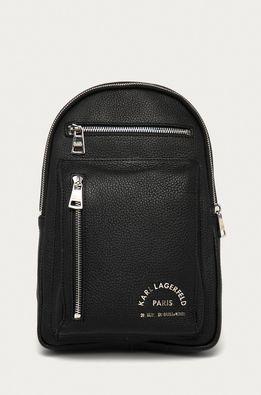 Karl Lagerfeld - Кожена чанта през рамо
