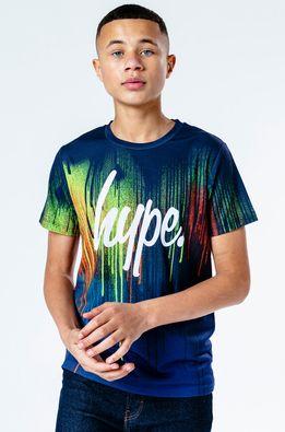 Hype - Tricou copii OCEAN DRIPS