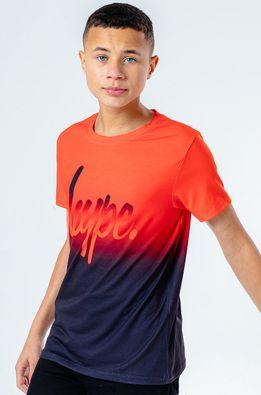 Hype - Дитяча футболка RED FADE