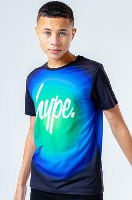 Hype - Детская футболка LIME FADE