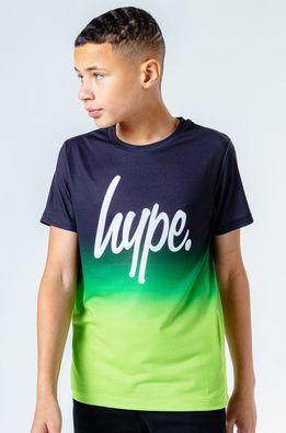 Hype - Дитяча футболка NEON FADE