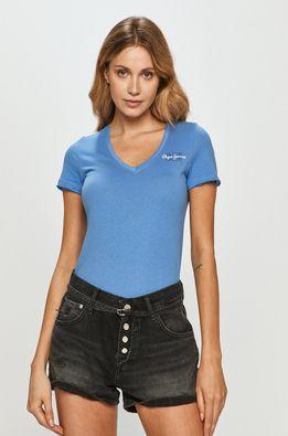 Pepe Jeans - Tricou Bleu