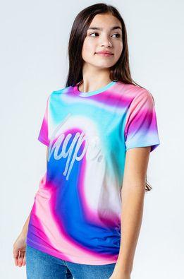Hype - Дитяча футболка RAINBOW WAVE