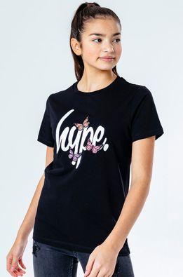 Hype - Дитяча футболка BUTTERFLY