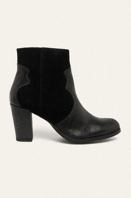 Answear - Kožené kotníkové boty