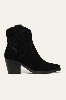 Answear - Kožené kovbojské topánky