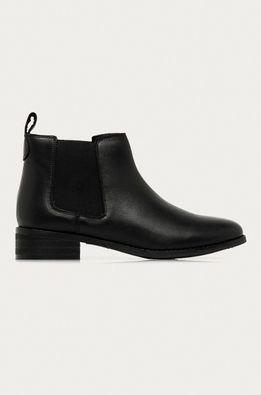Answear Lab - Kožené topánky Chelsea