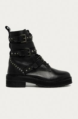 Answear.LAB limitovaná kolekcia - Kožené členkové topánky