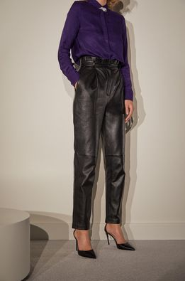 answear.LAB limited collection - Pantaloni de piele