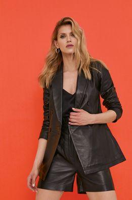 Answear Lab - Кожаный пиджак из коллекции к 10-летию ANSWEAR