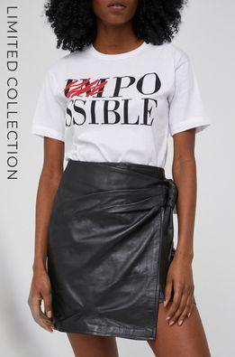 Answear Lab - Кожаная юбка из коллекции к 10-летию ANSWEAR