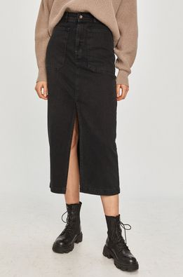 Answear Lab - Rifľová sukňa
