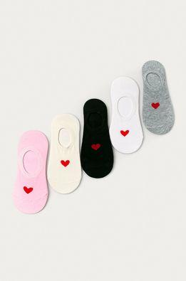 Answear Lab - Členkové ponožky (5-pak)