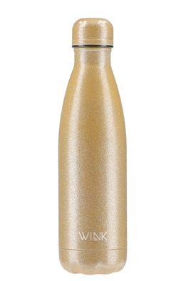 Wink Bottle - Sticla termica GLITTER GOLD
