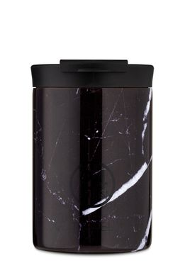 24bottles - Cana termica Travel Tumbler Black Marble 350ml
