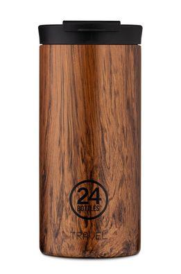 24bottles - Термочаша Travel Tumbler Sequoia Wood 600ml