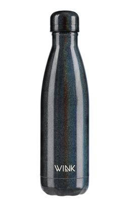 Wink Bottle - Sticla termica RAINBOW BLACK