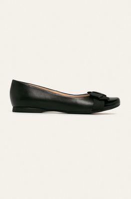 Wojas - Bőr balerina cipő