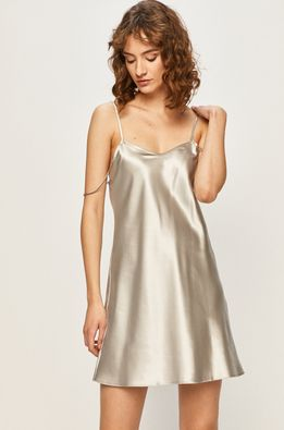 Local Heroes - Rochie Grey Satin