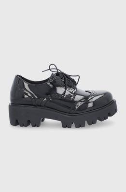 Altercore - Половинки обувки Nefi Vegan Black Patent
