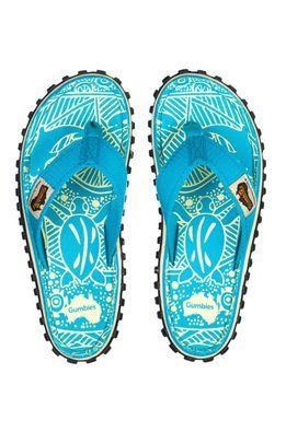 Gumbies - Flip-flop Islander Turquoise