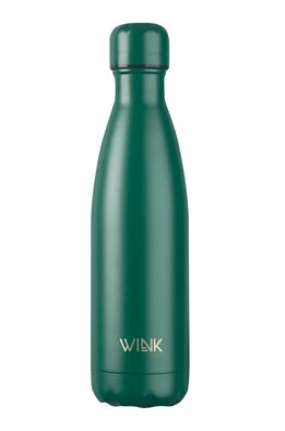 Wink Bottle - Termo fľaša Dark Green