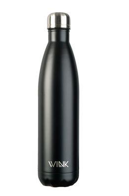Wink Bottle - Termo fľaša BLACK 750