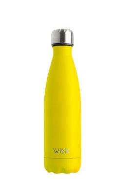 Wink Bottle - Sticla termica YELLOW