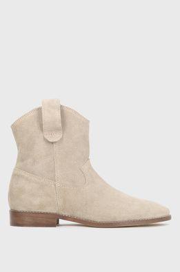 Kazar Studio - Semišové kovbojské topánky