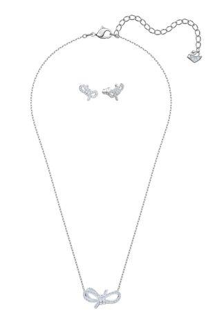Swarovski - Náušnice a náhrdelník LIFELONG BOW