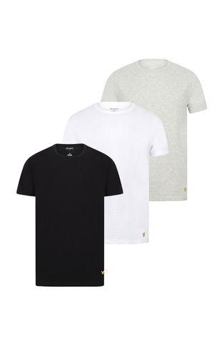 Lyle & Scott - T-shirt piżamowy MAXWELL (3-PACK)