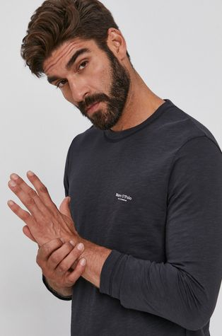 Marc O'Polo - Bavlněné tričko s dlouhým rukávem
