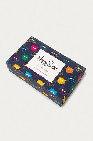 Happy Socks - Skarpetki Mixed Cat (3-pack)