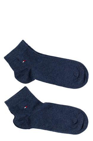 Tommy Hilfiger - Pánské ponožky Quarter (2-pack)