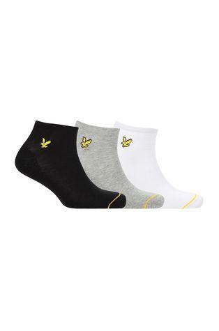 Lyle & Scott - Ponožky ROSS (3-PACK)