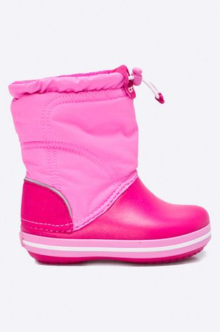 Crocs - Zimní boty 203509.CANDY.PINK