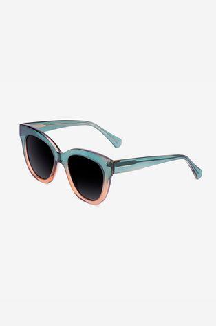 Hawkers - Okulary przeciwsłoneczne GREEN CHAMPAGNE AUDREY