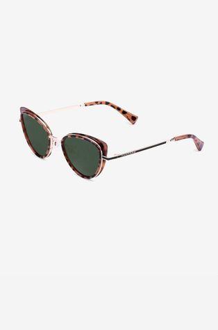 Hawkers - Okulary przeciwsłoneczne CAREY GREEN BOTTLE FELINE